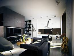 modern apartment art masculine apartment ideas contemporary art by ko ko architects