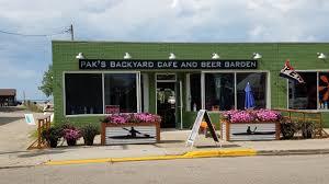pak u0027s backyard cafe and beer garden port austin mi bob u0027s beer blog