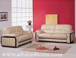 Dark Coffee Sofa Set Design In Living Room - Design sofa set