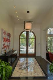 Pendant Light For Entryway Modern Entryway With French Doors U0026 Pendant Light In Winter Park