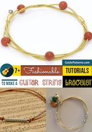make bracelet from string images 7 fashionable tutorials to make a guitar string bracelet guide jpg