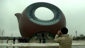 shaped teapot teapot shaped building causing a stir in eastern china news