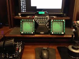 Flight Sim Desk My Desk Simpit Project Um 80 Mfd Concept Simhq Forums