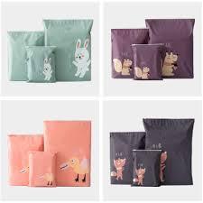 Waterproof Cushion Storage Bag by Online Shop Yilv Cute Cartoon Ziplock Home Storage Bag Grocery