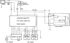 1988 mazda rx 7 audio system circuit diagram
