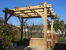 decor stunning pergola canopy design ideas with stone bench ideas