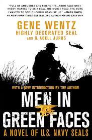 united states navy halloween background men in green faces a novel of u s navy seals gene wentz b