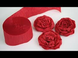 paper roses how to make twisted crepe paper roses