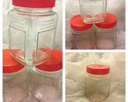 Plastic Candy Containers For Candy Buffet by Set Of 5 Glass Candy Buffet Jars Candy Jars Candy Buffet
