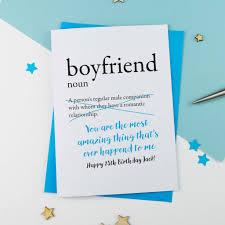 birthday cards for boyfriend birthday card for boyfriend personalised by a is for alphabet