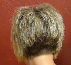 front and back pictures of short hairstyles for gray hair photo gallery of hairstyles long front short back viewing 10 of
