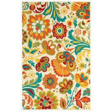 Shaw Living Medallion Area Rug Shaw Living Floral Beige 7 Ft 10 In X 10 Ft 6 In For The