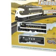 bachmann trains thoroughbred ho scale set figure 8 track