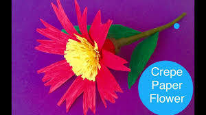 diy crepe paper flower diwali decor navratri paper craft for home