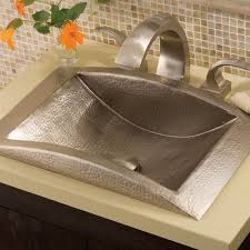 eclipse brushed nickel bathroom sink native trails