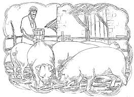 parable the prodigal son coloring pages bebo pandco