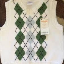 gymboree nwt gymboree boys 18 24 argyle sweater vest from