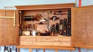 Tool Cabinet Wood Hand Tool Cabinet Part 2 Youtube