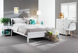 Katie  Piece Tall Chest Queen Bedroom Suite Super Amart - Super amart bedroom packages