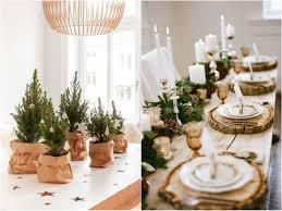 idee per la tavola la tavola di natale violet wool