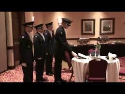 army fallen comrade table script military ball pow mia ceremony youtube