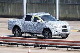 mercedes pick up spied mercedes benz x class pickup spotted track testing for