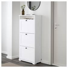 shoe storage brusali shoe cabinet with compartments white ikea