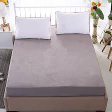 breathable waterproof mattress protector mattress topper fitted