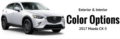 where does mazda come from 2017 mazda cx 3 color options