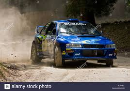 subaru wrc 1999 subaru impreza wrc on the rally stage at goodwood festival of