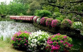 flower gardens simple flower garden wallpaper