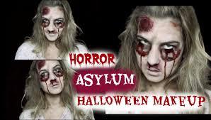 Prisoner Halloween Makeup by Creepy Horror Asylum Halloween Makeup Tutorial Youtube