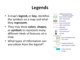 what is a map legend themes and essential elements ppt
