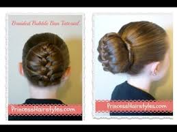 hairstyles jora tutorial braided bubble bun tutorial dance hairstyles youtube