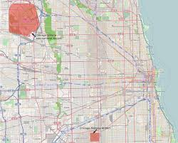 Chicago Ord Terminal Map by Chicago Airports Map Chicago Map