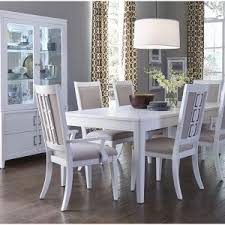 Dining Room  White Dining Table Set Ikea Antique White Dining Set - White leather dining room set