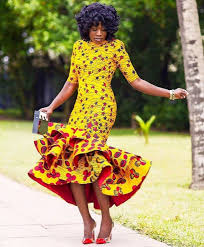 ankara dresses 6ef081ae7fe0907cce4061aff34a3578 ankara dresses fashion