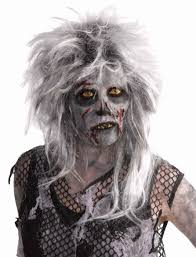 wild zombie hair undead wig grave corpse halloween ghost