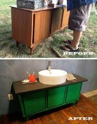 garage bathroom ideas garage sale console becomes our bathroom vanity kara paslay design