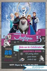 frozen birthday invitation disneys frozen birthday party