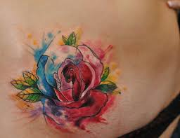 watercolor rose tattoo designs ideas and meaning tattoos for you