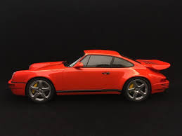 ruf porsche 911 porsche 911 type 964 ruf scr 4 2 blood orange 1 18 gt spirit gt192