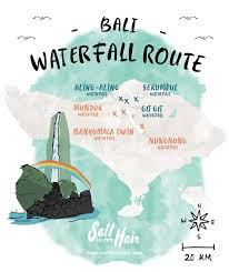 Columbus Route Map by Bali Waterfall Route 6 Most Beautiful Waterfalls On Bali Indonesia