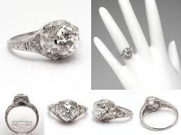 vintage estate engagement rings vintage estate engagement rings jewerly ideas gallery
