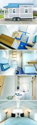 best ideas about tiny house exterior pinterest small great storage love the sliding closet door and booth table seating shonsie beautiful blue tiny house with stunning interior design