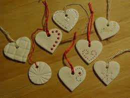 show tell baking soda clay ornaments