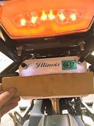 ebay led license plate bolt lights