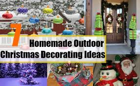 Home Made Decorations For Christmas Homemade Outdoor Christmas Decorating Ideas Ideas For Christmas