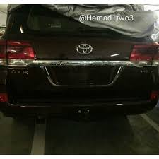 land cruiser 2016 2016 toyota land cruiser facelift shows its face on instagram