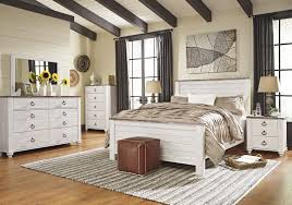 Bedroom Furniture Collections Willowton Whitewash Bedroom Furniture Collection For 159 94